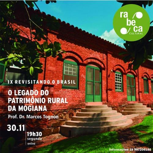 Rabeca Cultural debate o patrimônio rural da Mogiana