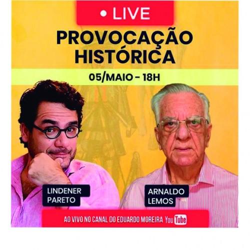 LIVE | Provocação Histórica entrevista Arnaldo Lemos Filho