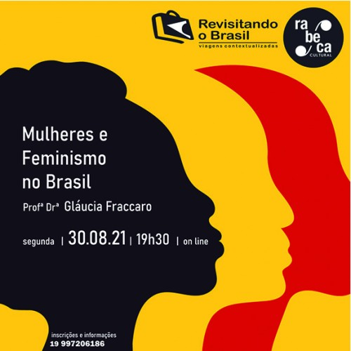Rabeca Cultural discute Mulheres e Feminismo no Brasil