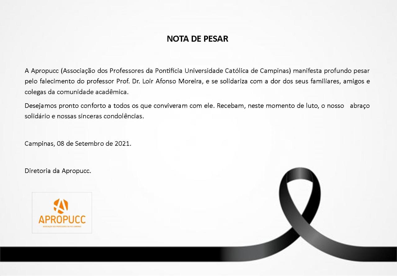 Nota_pesar_Prof. Dr. Loir Afonso Moreira