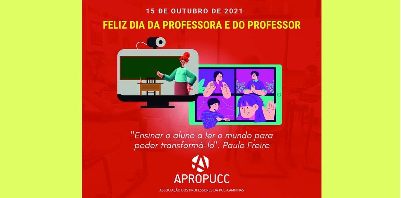 15 DE OUTUBRO | Feliz Dia da Professora e do Professor