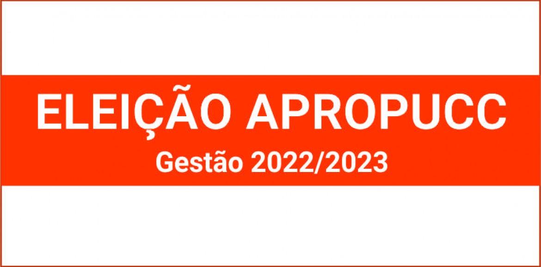2021 | Inscrição de Chapa para Eleições Apropucc